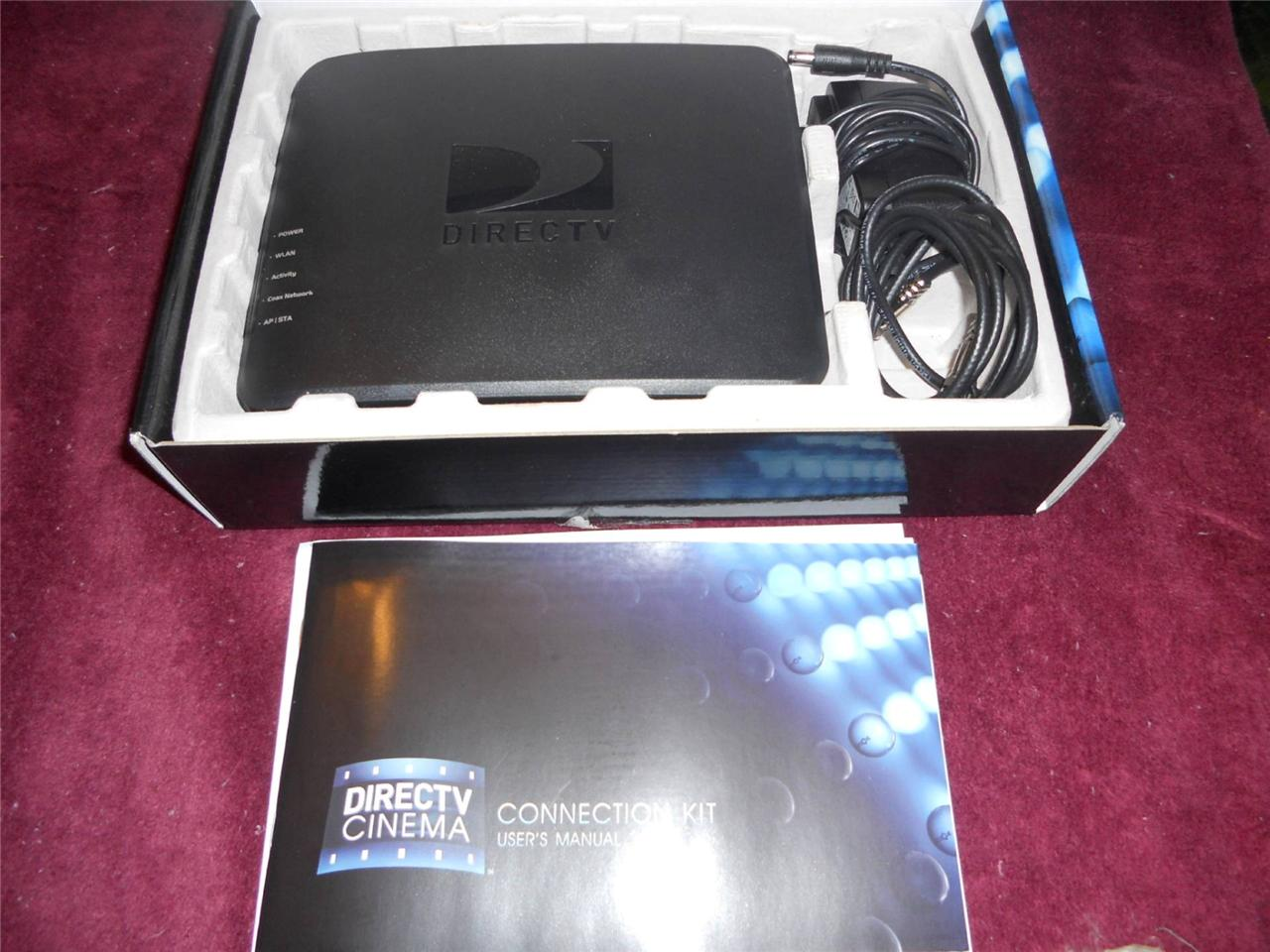 Direct-TV-Cinema-Connection-Kit-TV-Genie-Wireless-Connection-Router ...