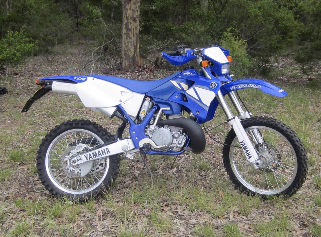 yamaha yz 250 wr 2001 yz250 road registered only 743km ebay. Black Bedroom Furniture Sets. Home Design Ideas