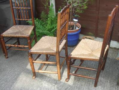 Liverpool Fanback Chairs Set Of Four Ebay
