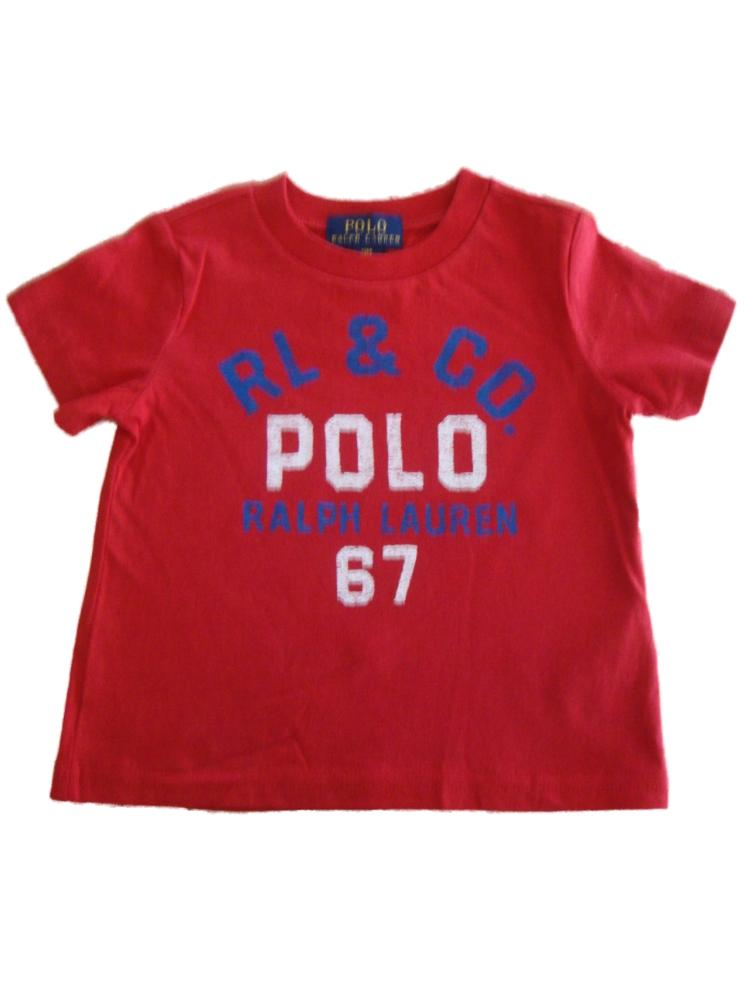 Ralph Lauren Polo Baby Boys Pony Cotton T Shirt 9 12 18 24