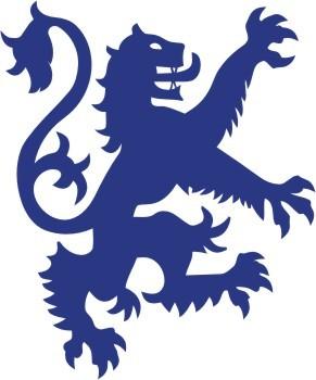 Heraldic Scottish Lion Rampant Large 1 Left Vinyl