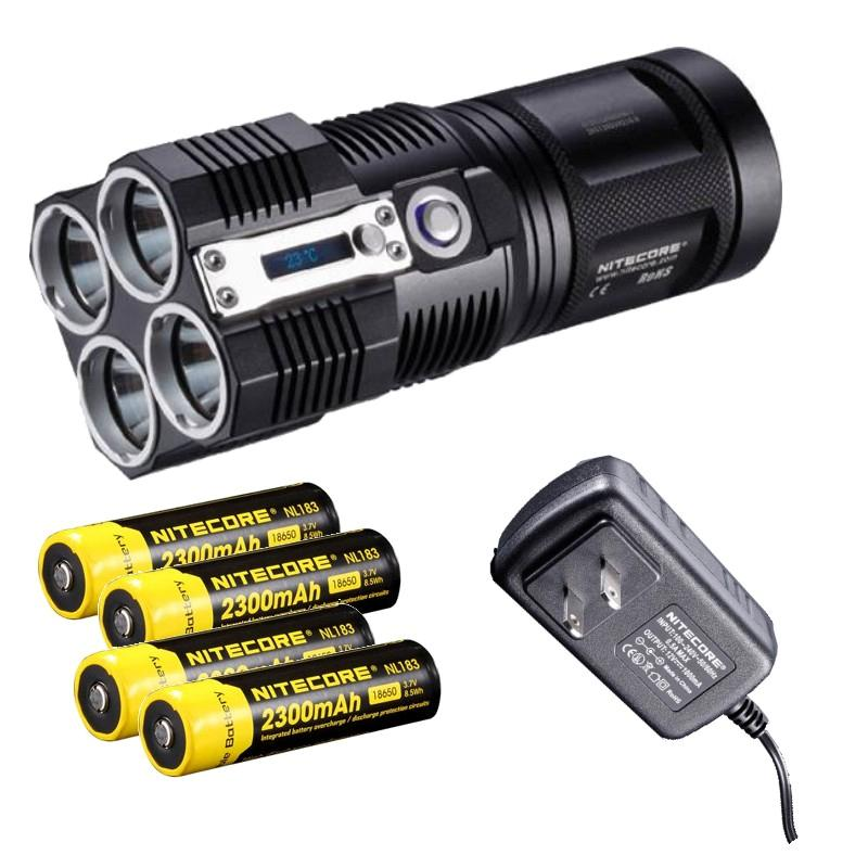 Nitecore TM26 3800 lumen Flashlight/Searchlight Tiny ...