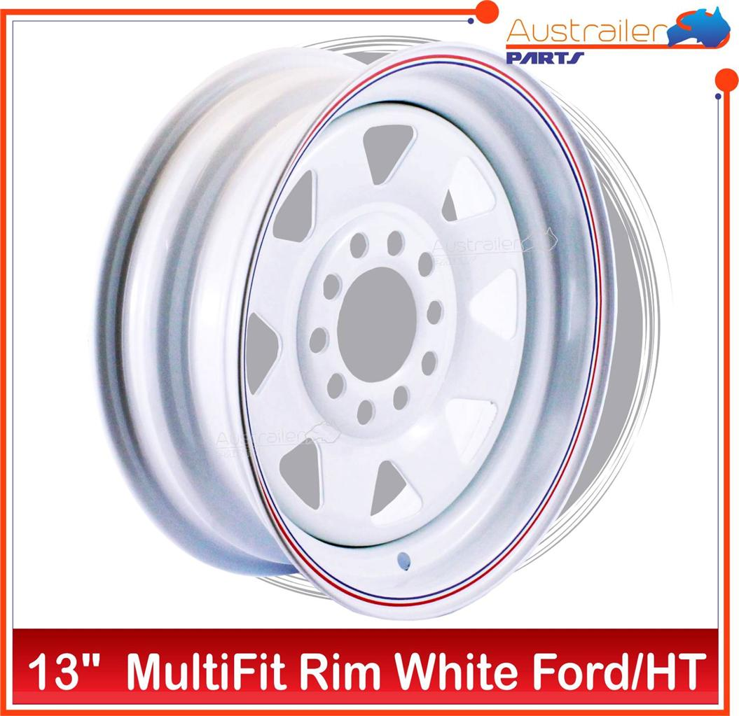 RIM-FORD-HOLDEN-HT-MULTIFIT-SUNRAYSIA-RIM-WHITE-BOAT-TRAILER-WHEELS
