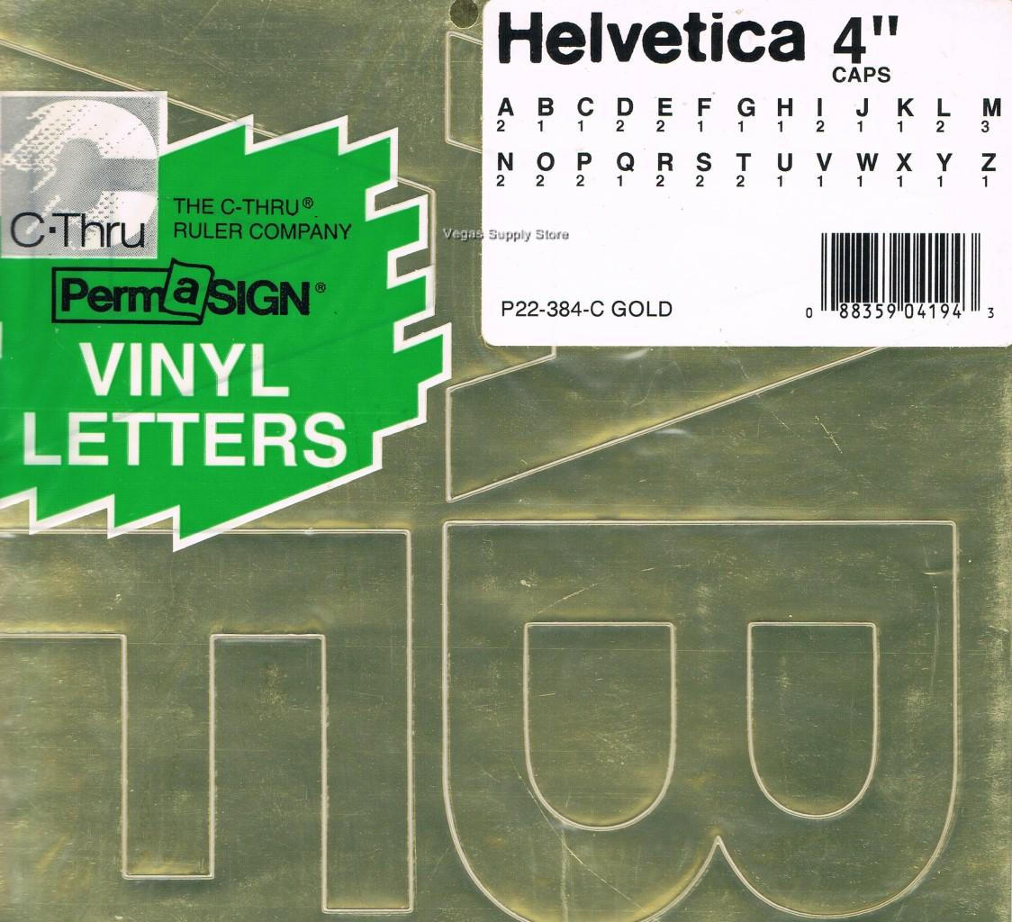 press on vinyl gold helvetica letters numbers self With helvetica vinyl letters