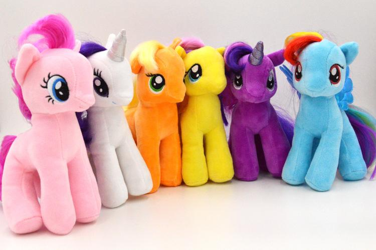 Best My Little Pony Toys And Dolls For Kids : Quot my little pony plush toy rainbow twilight sparkle soft