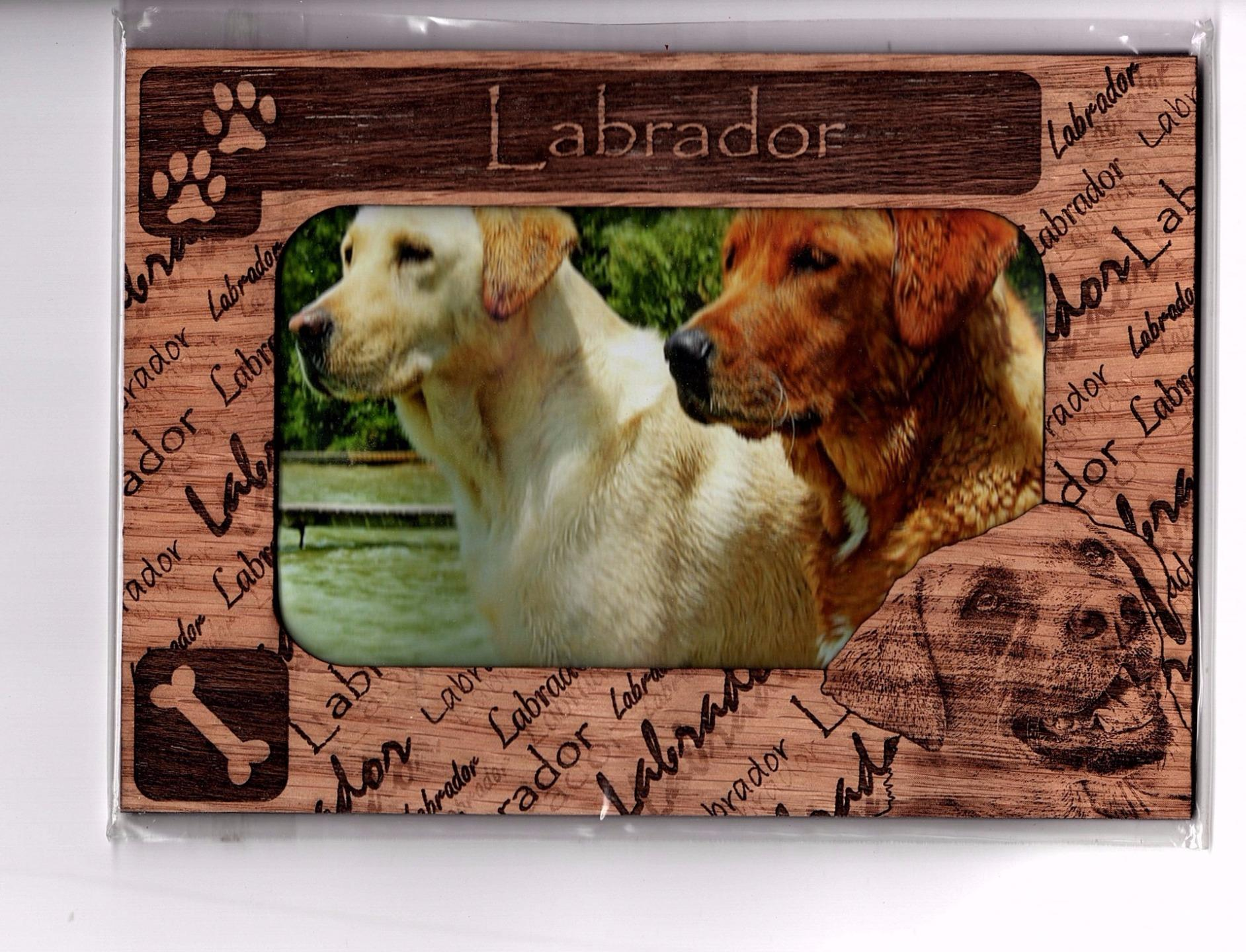 Dog Breeds Amp Cat Kitten Puppy Magnetic Wood Photo Frame