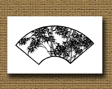 手工剪纸竹子步骤