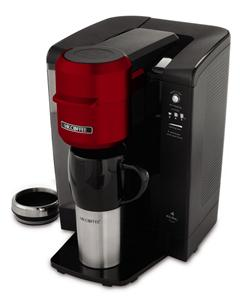 Coffee Maker With Keurig Technology : NEW Mr. Coffee Single Serve Coffee Brewer Maker Keurig Brewing Technology RED eBay