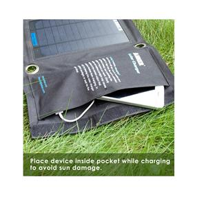 New 14w Solar Panel Dual Port Foldable Solar Charger For