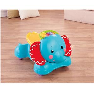 NEW Fisher-Price 3-in-1 Bounce Stride and Ride Elephant Kids Baby Walker | eBay