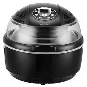 New Vonshef Low Fat Oil Free 9 Qt Health Turbo Air Fryer
