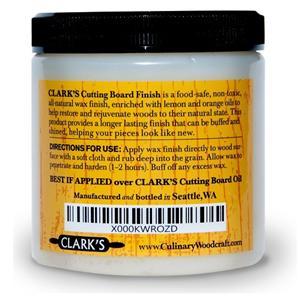 new clarks cutting board finish butcher block conditioner