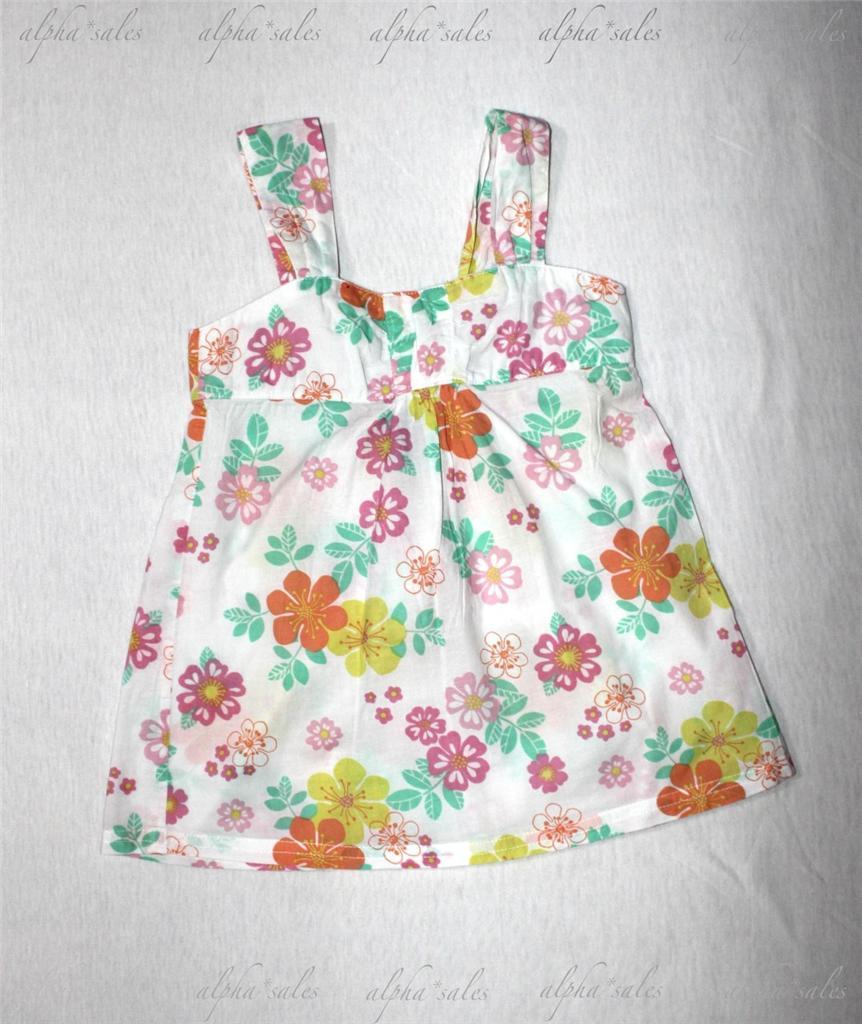 pumpkin patch designer sleeveless baby doll top sz 6