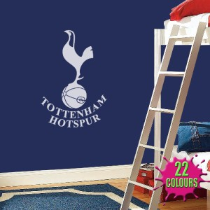 tottenham hotspur badge wall decal art sticker football tottenham hotspur jumbo sticker fun stickers