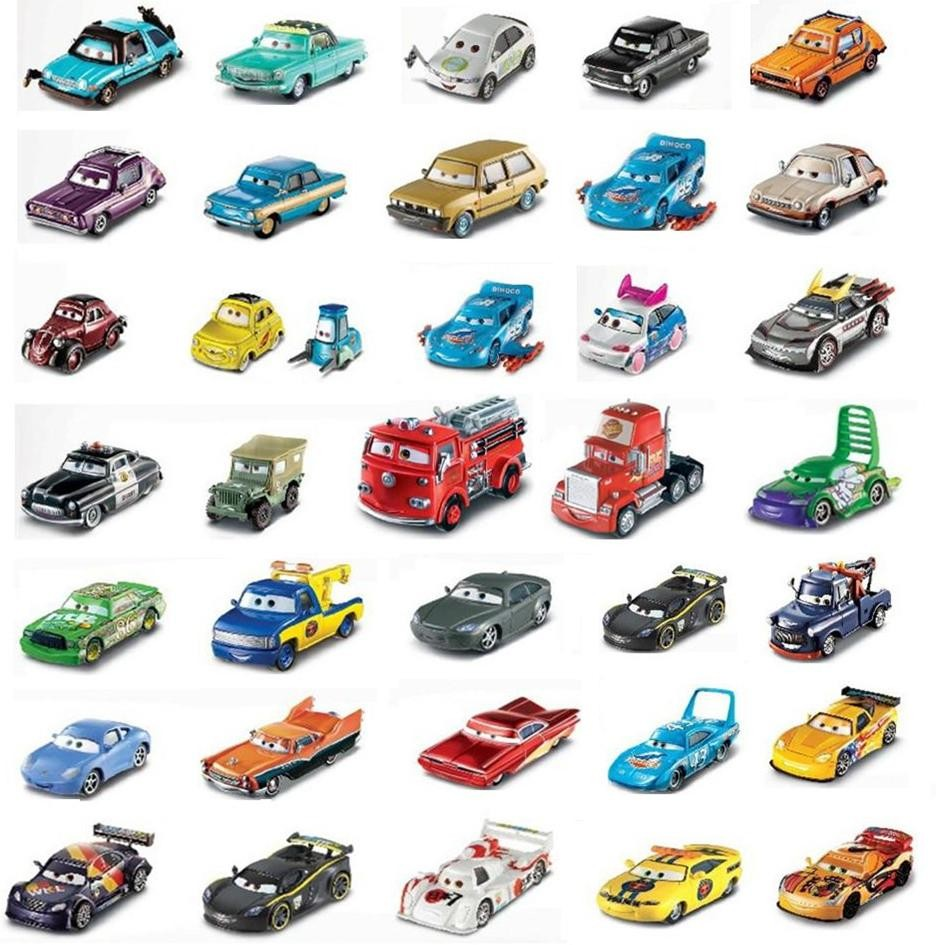 Cars 1 And 2 Toys : Original mattel disney pixar diecast cars
