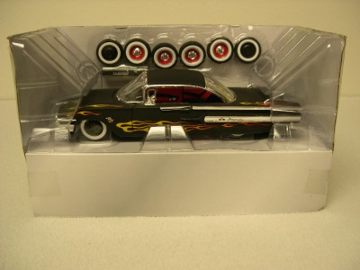 Jada Toys Road Rats 1960 Chevy Impala 1 24 Scale Diecast Model Kit Used