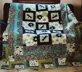 dragonfly habitat quilt pattern from magazine beginner applique piecing ebay. Black Bedroom Furniture Sets. Home Design Ideas