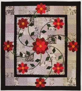 MY ROSE OF SHARON Quilt Pattern From Magazine - Applique on Pieced Background eBay