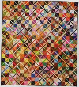 Scrap Quilt Patterns For Beginners : TRADING PATCHES Quilt Pattern From Magazine - Beginner Scrap Friendly Design eBay
