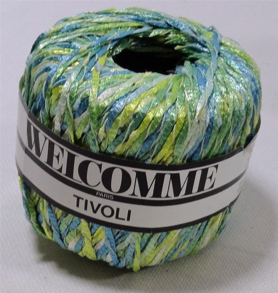 10 SPOOLS VINTAGE WELCOMME TIVOLI YARN (#2536)  eBay