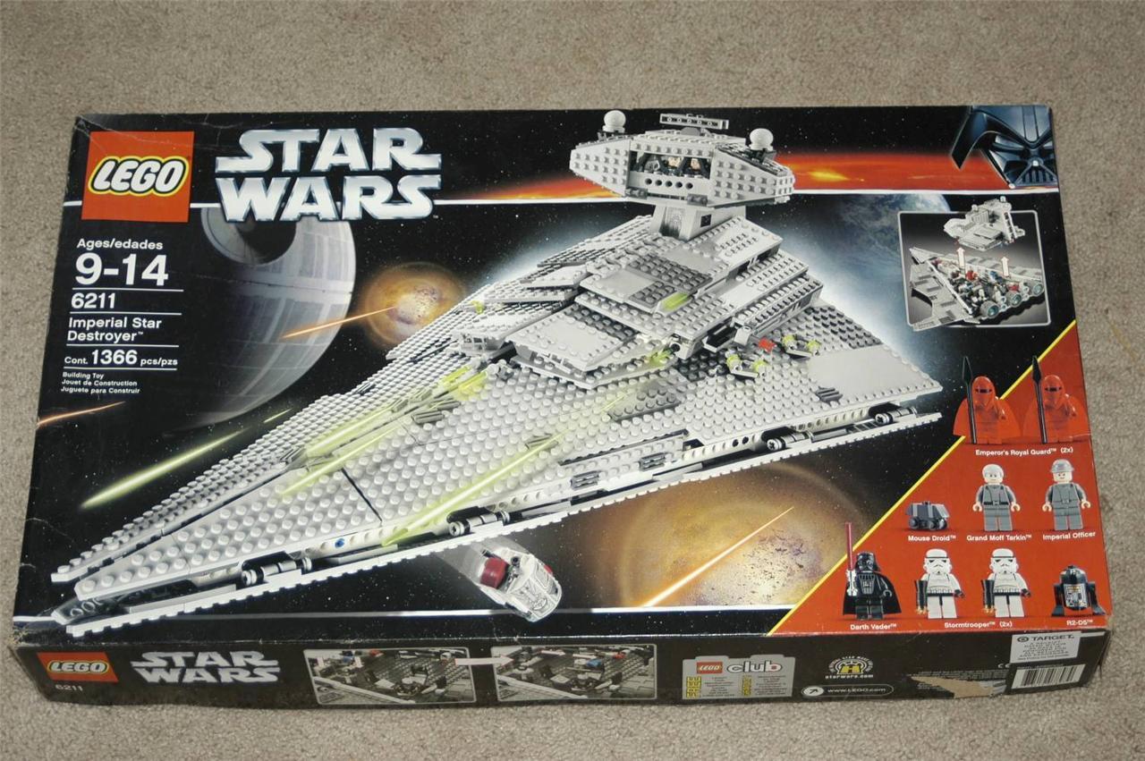 Lego Star Wars 6211 Imperial Star Destroyer w Original Box ...