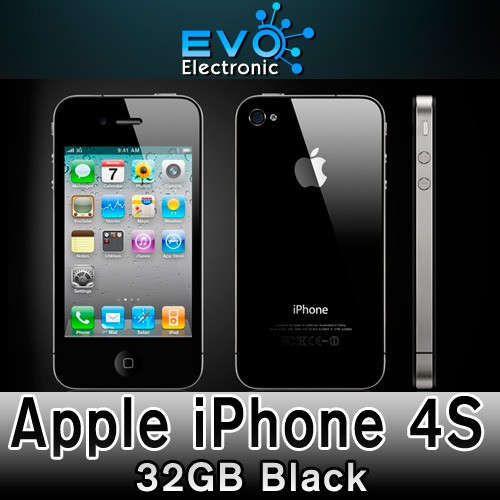 Unlocked-Apple-iPhone-4S-32GB-Smartphone-Mobile-Phone-Black