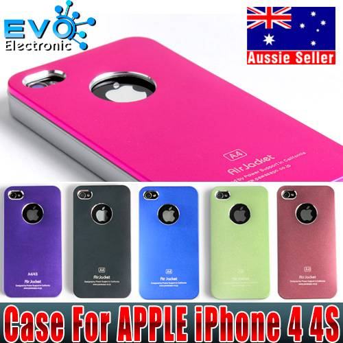 AIR-JACKET-Aluminum-Protection-Hard-Matte-Case-Cover-For-APPLE-iPhone-4-4S