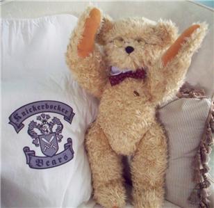 Knickerbocker New Generation Bear Professor Twiggly Huggable Teddy