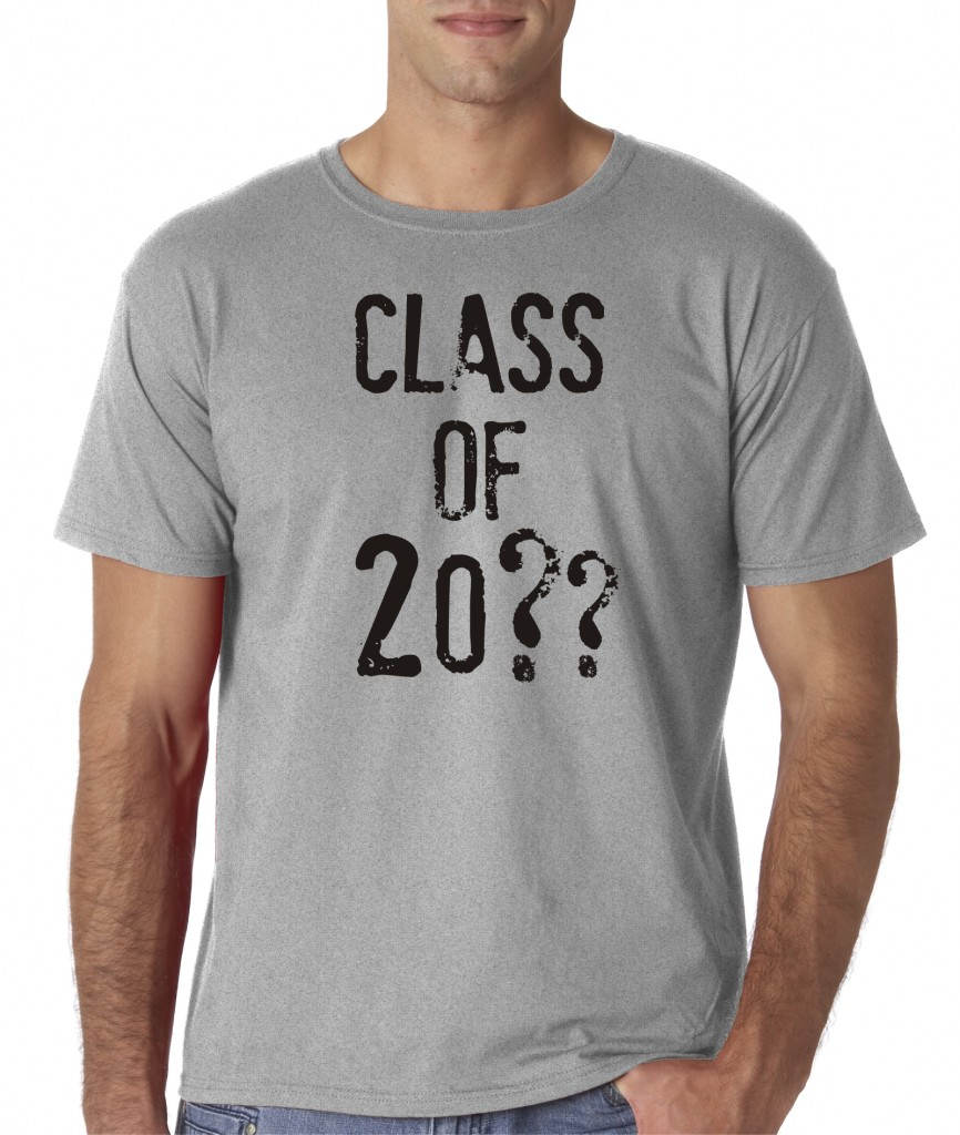 Mens Custom Personalized Class Of High School College
