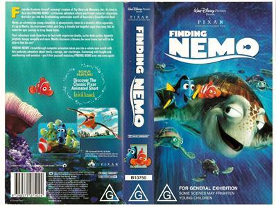 DISNEY - FINDING NEMO *RARE VHS TAPE* | eBay