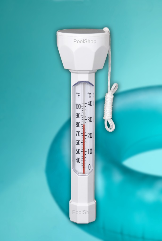 Swimming pool spa pond new jumbo floating thermometer for Fish pond thermometer