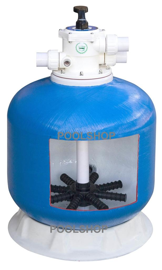 Swimming Pool Filter Cleaning : Swimming pool water sand filter cleaner inch fiberglass
