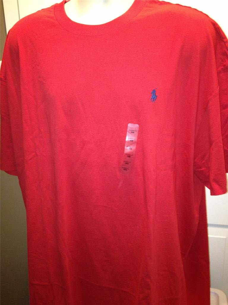 New polo ralph lauren big and tall classic t shirt 3xl 4xl for Tall ralph lauren polo shirts