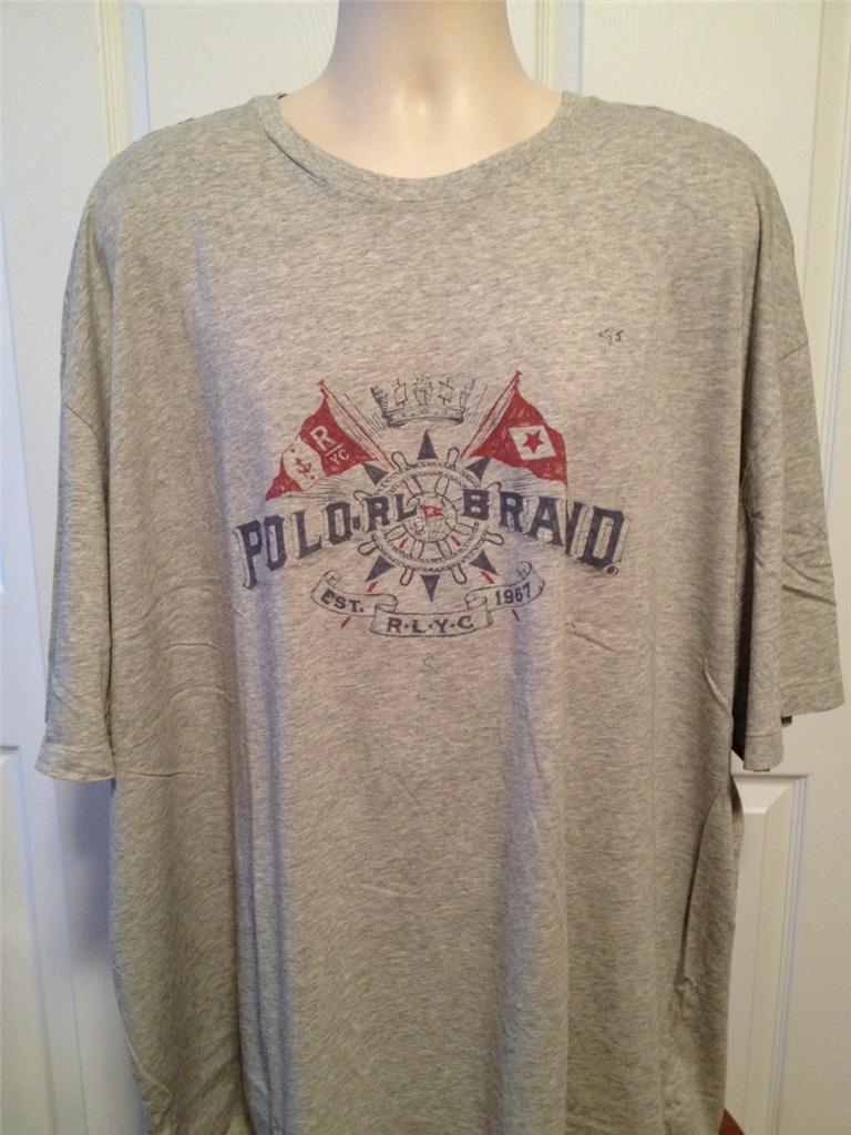 new polo ralph lauren big and tall graphic t shirt 3xl