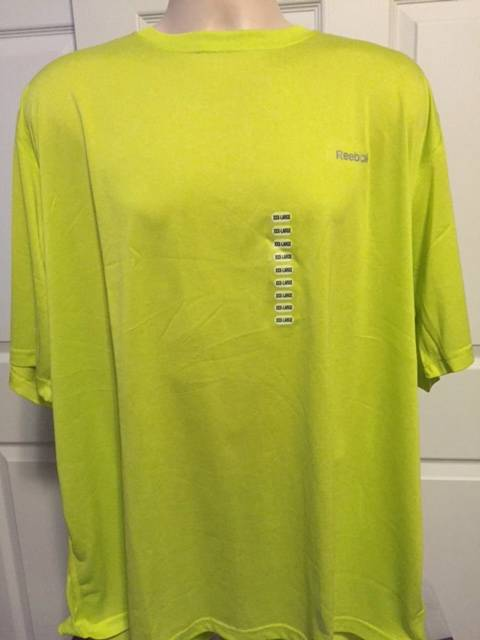 New rebook big and tall play dry performance t shirt 3xl for Xxl tall white t shirts