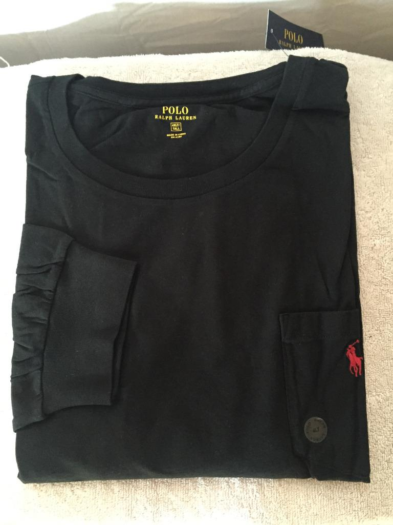 New Polo Ralph Lauren Big And Tall Long Sleeved T Shirt 3x