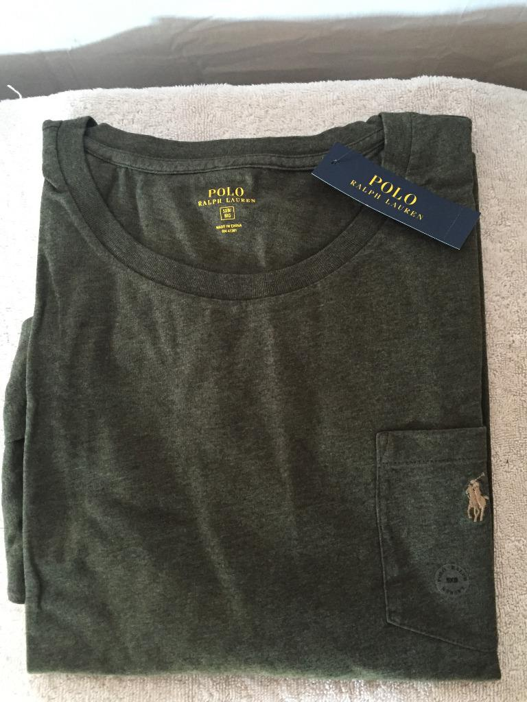 New polo ralph lauren big and tall long sleeved t shirt 3x for Mens 5x polo shirts