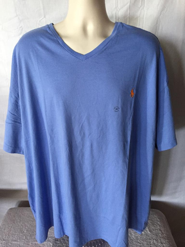 New Polo Ralph Lauren Big And Tall V Neck T Shirt 3xl 4xl