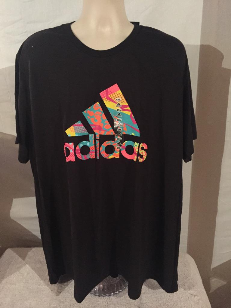 new adidas go to tee big and tall logo t shirt 3xl 4xl 5xl