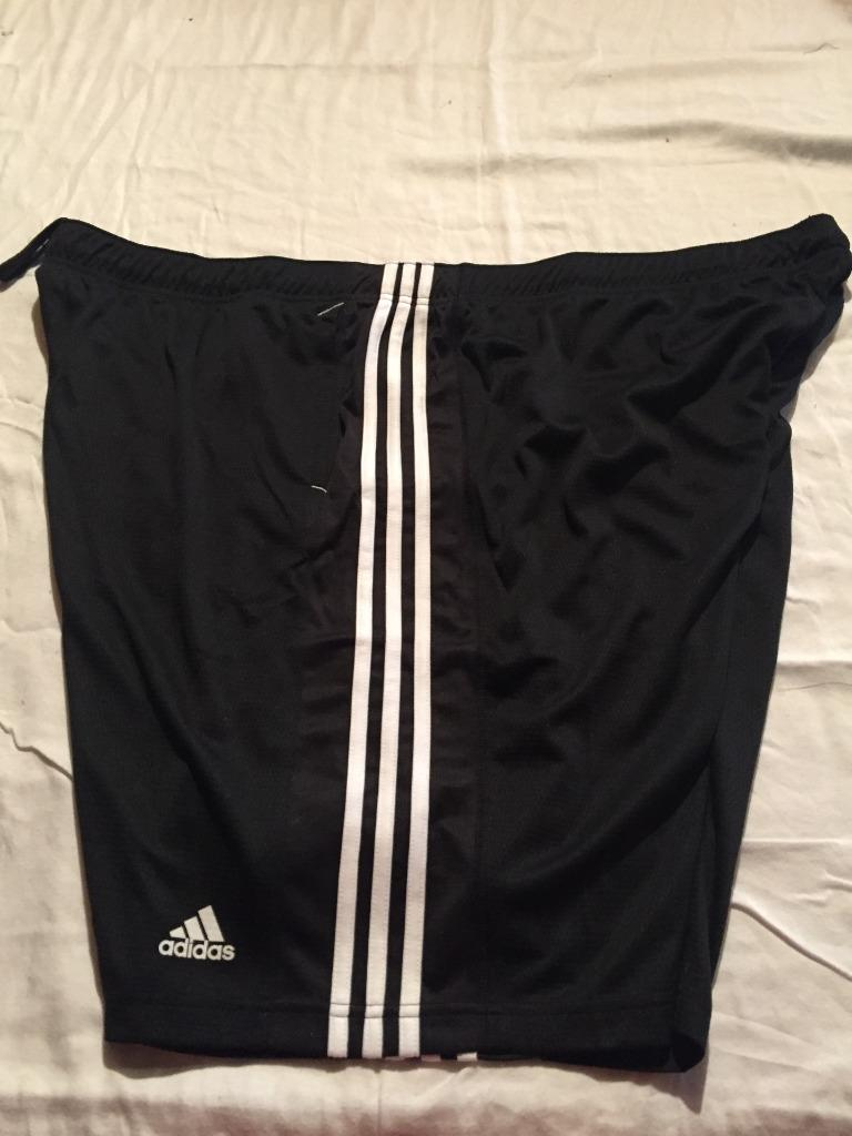 New adidas big and tall athletic climalite shorts 3xl 4xl for Big and tall athletic shirts