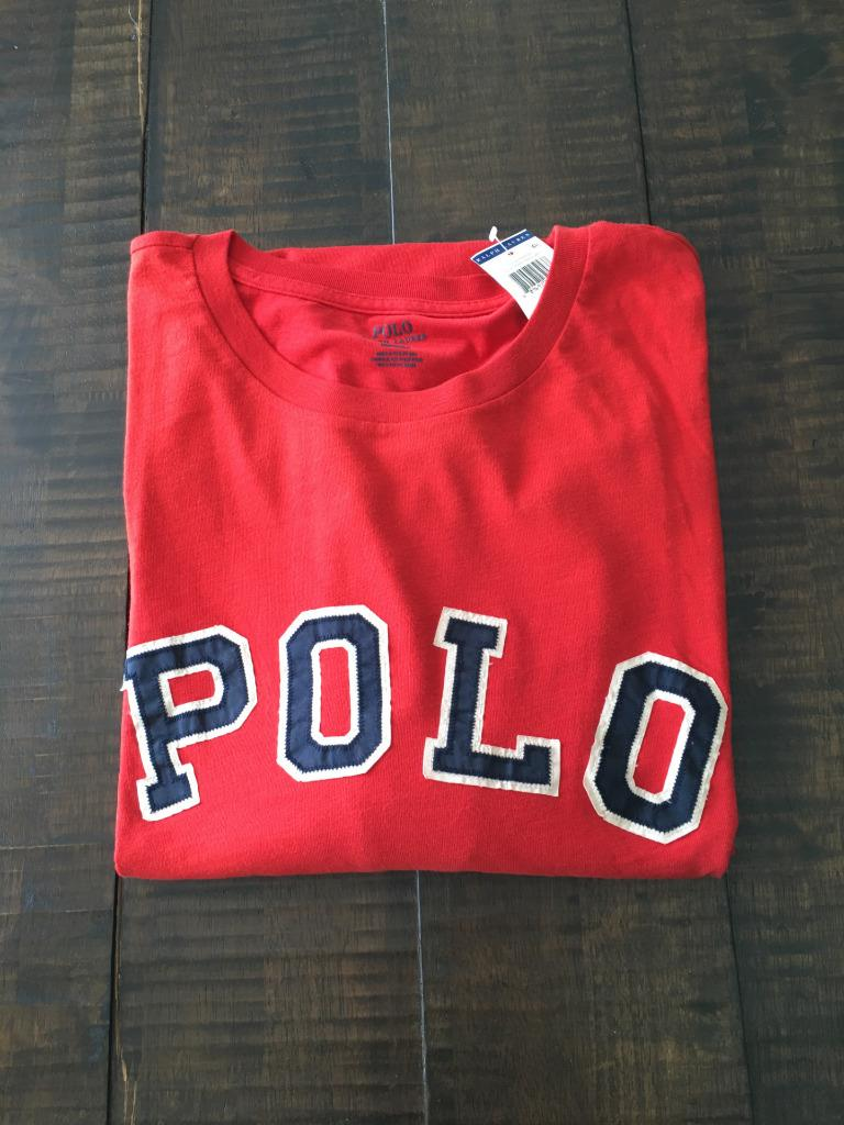 New polo ralph lauren big and tall polo t shirt 2xlt 3xl for Big and tall polo t shirts