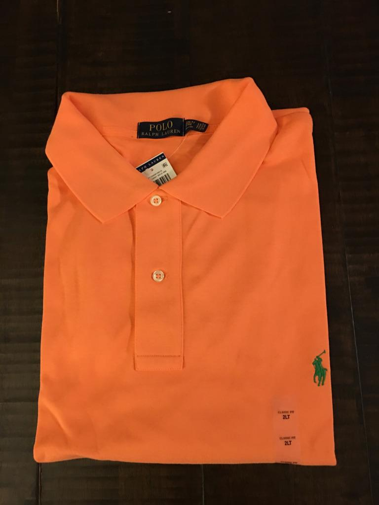 new polo ralph lauren big and tall interlock polo shirt 3x