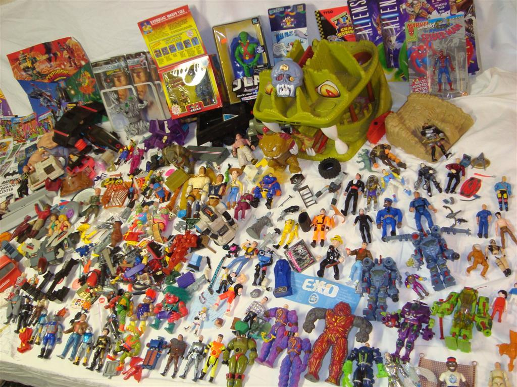 70s And 80s Toys : Massive action figure lot from s many