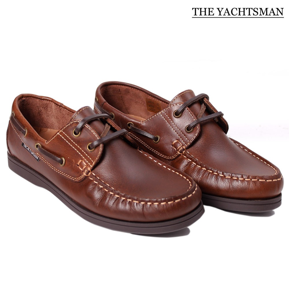 mens boat shoes leather nubuck slip on lace up deck