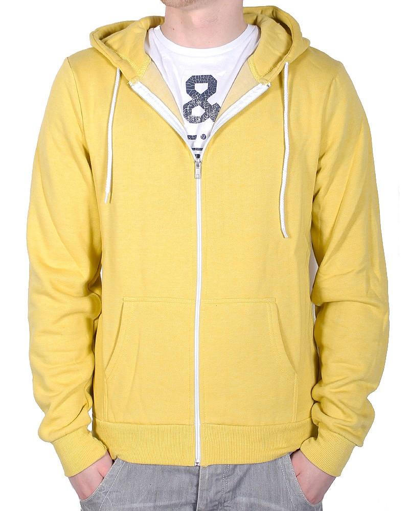 Soul Star Mens Designer Fleece Hoody Full Zip Hooded Top