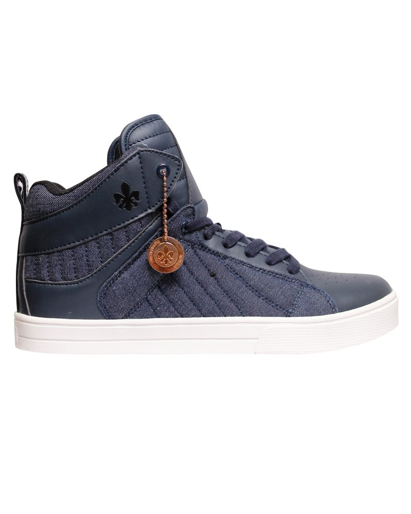 mens trainers twisted faith mid top high top ankle canvas