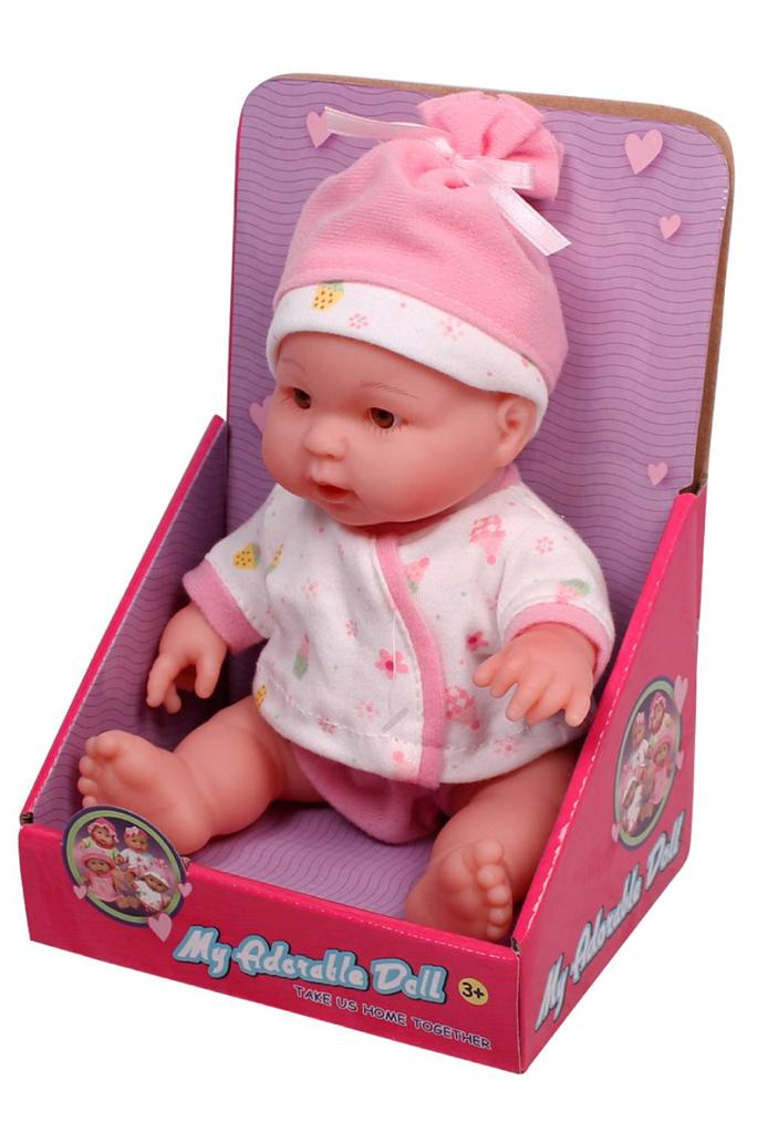 New 10 Inch Baby Doll 3 Years Kids Newborn Set With