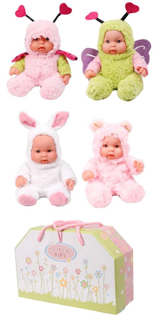 Super-Cute-Doll-Childrens-Girls-Fluffy-Bunny-Fairy-Bear-Toy-Dolls-New-In-Box