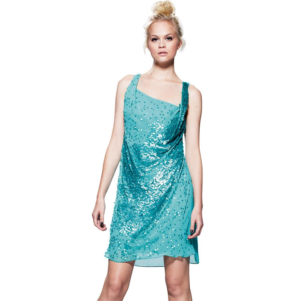 Love Label Sequin Dress. Black or Teal Green. Size 8 10 12 14 16 ...