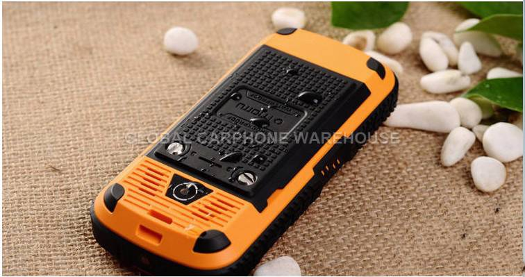 New Tough Military IP67 Water Shock Dust Proof Quadband Dual Sim Cell Phone